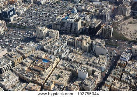Dubai Jumeirah City Aerial View Photography