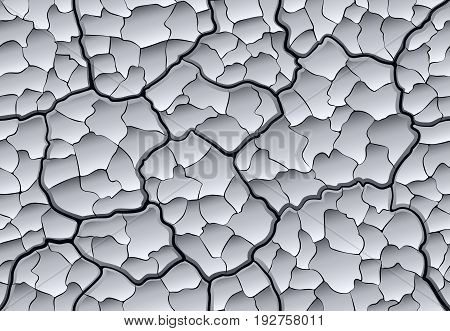 Dried Clay Seamless Pattern
