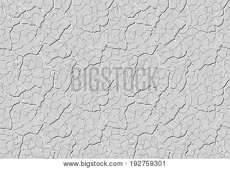 Decorative Plaster Seamless Pattern