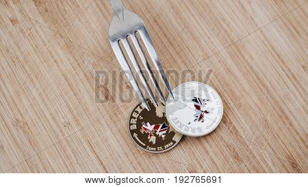 Brexit Physical Coin