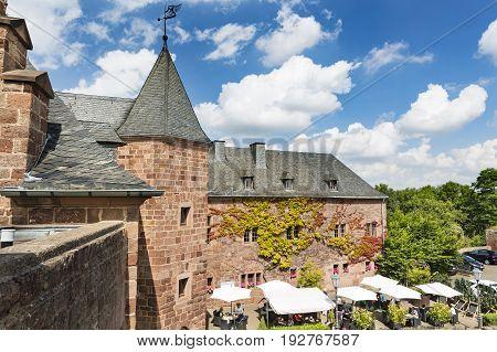 Nideggen Castle In Germany, Editorial