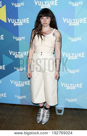 NEW YORK, NY - MAY 21: Katie Crutchfield attends 'Waxahatchee Jam Session' during the 2017 Vulture Festival at Milk Studios on May 21, 2017 in New York City.