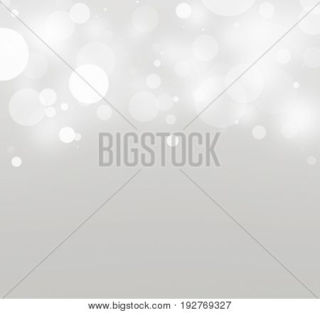 Creating white light circles on gray gradient background