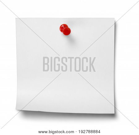 White paper note background space isolated business