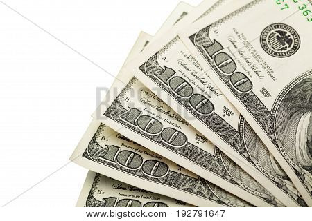 One note bank dollars hundred banknotes group