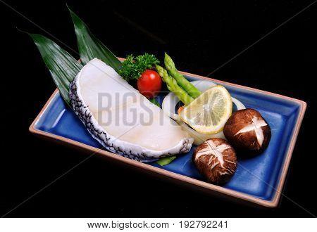Steak Sable Fish Set
