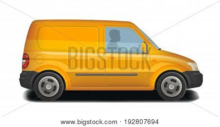 Car, vehicle icon. Delivery, cargo transportation, transport, traffic concept. Vector illustration isolated on white background