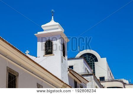Chapel On A Hill Under Castelo De S. Jorge, Lisbon