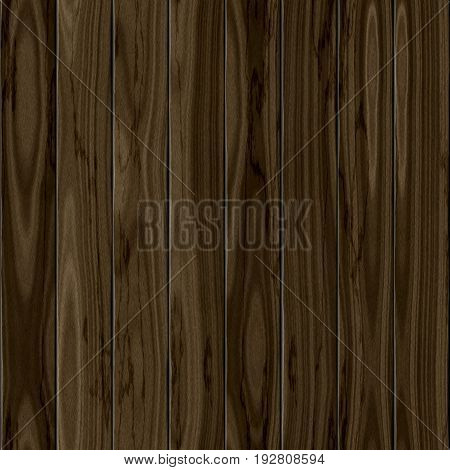 Dark realistic brown wooden fence pattern 3d texture