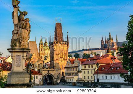 Morning in Prague, Czech Republic - Bohemia