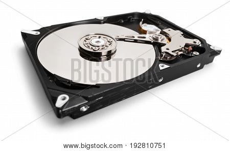Drive hard disk hd hdd disk drive white