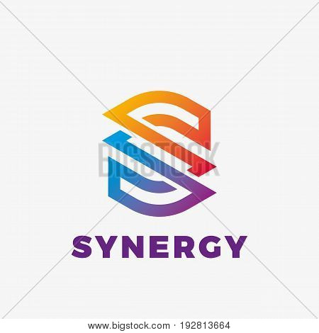 Abstract letter S logo. Abstract business logo design template. Logo template editable for your business.