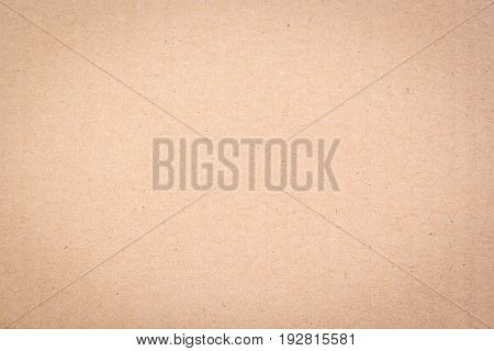 background and texture of brown paper sheet board surface