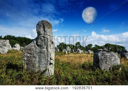 neolitic megaliths - Carnac in Brittany France
