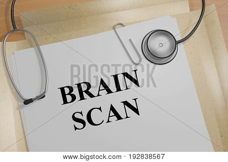 Brain Scan - Medical Concept