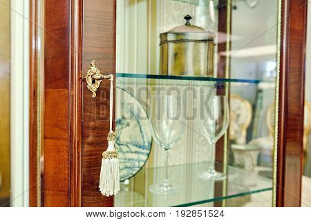 Golden Key In The Door A Rich Furniture