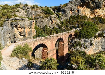 Ruins of Ancient Roman Aqueducts, Spain, Chelva