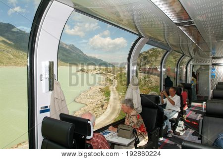 Bernina Express Train, Unesco World Heritage