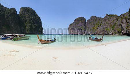 Panoramic Lagoon in Thailand, Phi Phi islands