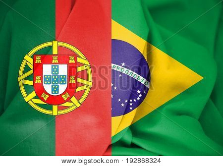 Flags_of_brazil_and_portugal