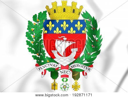 Paris Coat Of Arms, France.