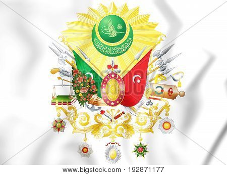 Ottoman Empire Coat Of Arms (1299-1923).