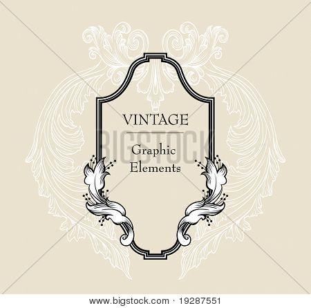 very cool vintage frame