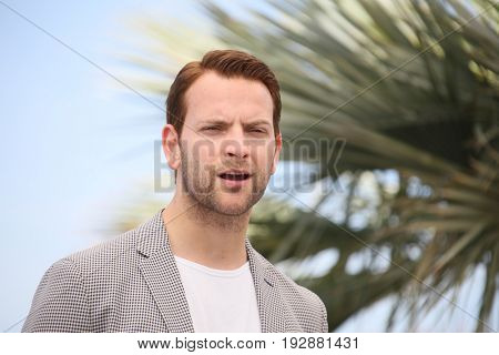 Alessandro Borghi  attends the 'Fortunata' photocall during the 70th annual Cannes Film Festival at Palais des Festivals on May 21, 2017 in Cannes, France.