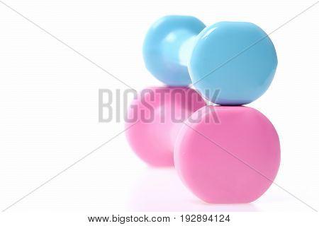 Plastic Dumbbells Set