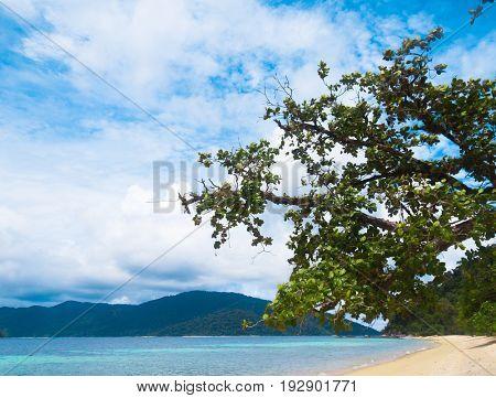 On a Beach Remote Resort