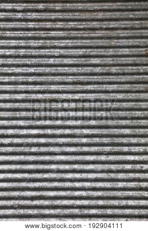 Corrugated Goffered Metal Background Texture