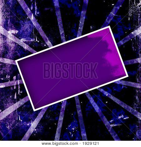 Purple Grunge Frame