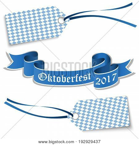 Hangtags And Banner For Oktoberfest 2017