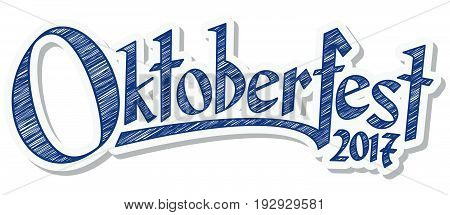 Header With Text Oktoberfest 2017