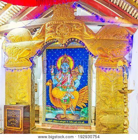 The Shrine Of Vishnu