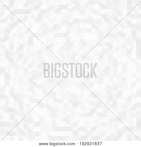 Vector Geometric Abstract Seamless Pattern, Technology Background