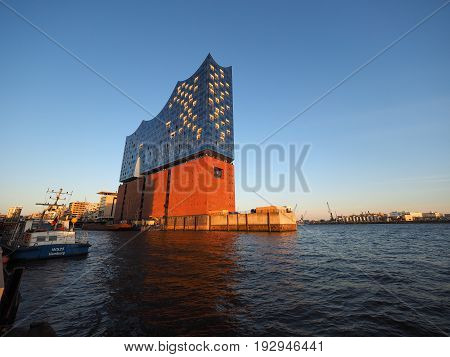 Elbphilharmonie Concert Hall In Hamburg