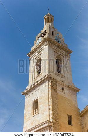 Tower Of The Basilica Santa Maria In Xativa