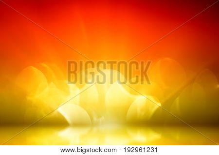 glitter gold color, de focus soft blur bokeh, color filter abstract background