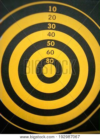 The bull's eye.....aim for the best in life