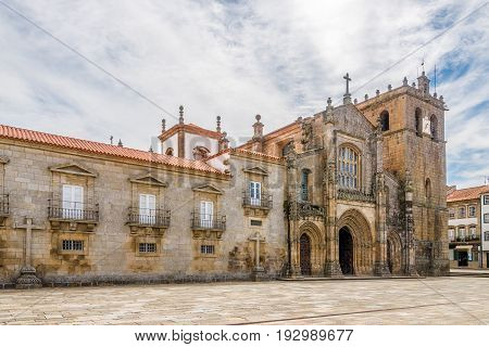 Cathedral of Our Lady of the Assumption in Lamego - Portugal