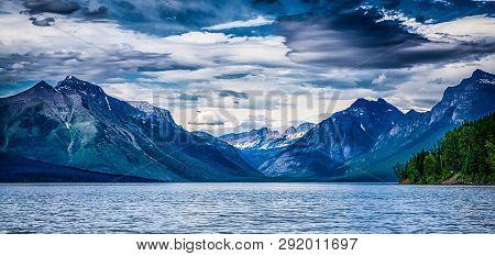 Views Of Lake Mcdonald Glacier National Park