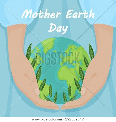 Vector Background For International Earth Day. Vector Illustration For Your Design