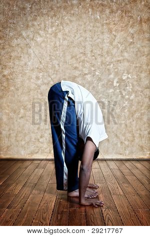 Second Step Of Surya Namaskar And Uttanasana