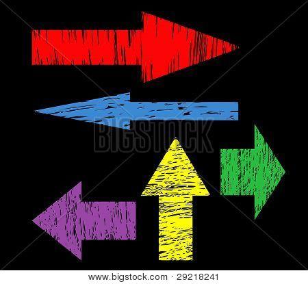 Arrow Set Vector For Design