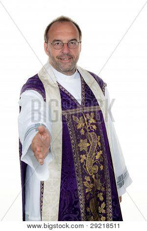 kindly catholic priest