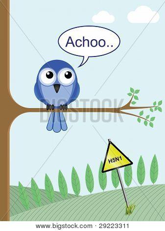Tree bird flu