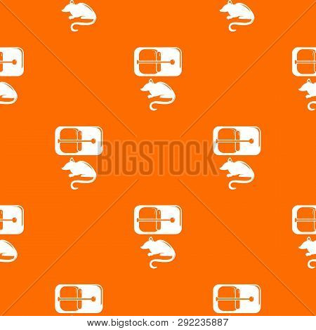 Mousetrap Pattern Vector Orange For Any Web Design Best