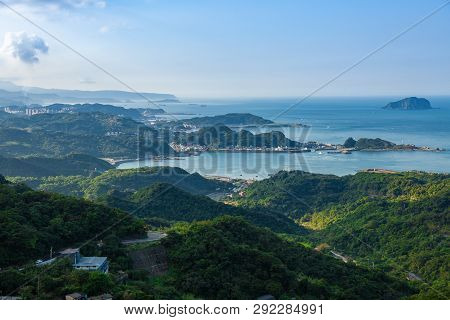 Ocean Coastline View, Jiufen, Taiwan
