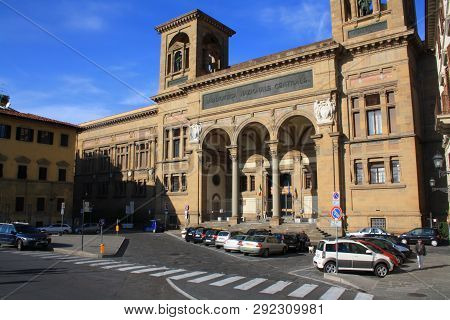 The Building Of National Central Library - Biblioteca Nazionale Centrale Di Firenze